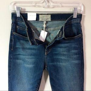 Current/Elliott Jeans - Current/Elliot High Waist Stiletto Blue Jeans 26